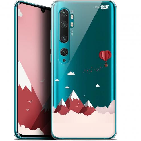 """Coque Gel Xiaomi Mi Note 10 / Pro (6.47"""") Extra Fine Motif - Montagne En Montgolfière"""