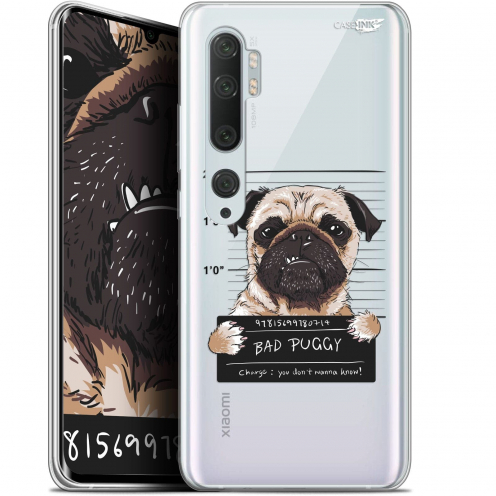 "Coque Gel Xiaomi Mi Note 10 / Pro (6.47"") Extra Fine Motif - Beware The Puggy Dog"