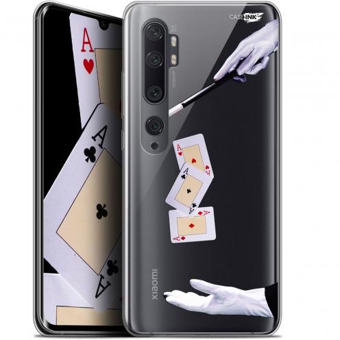 """Coque Gel Xiaomi Mi Note 10 / Pro (6.47"""") Extra Fine Motif - Cartes Magiques"""
