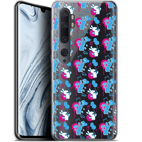 """Coque Gel Xiaomi Mi Note 10 / Pro (6.47"""") Extra Fine Lapins Crétins™ - Rugby Pattern"""