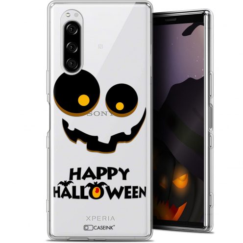 "Coque Gel Sony Xperia 5 (6.1"") Extra Fine Halloween - Happy"