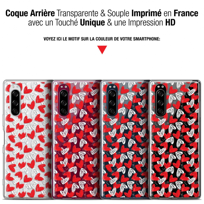 "Coque Gel Sony Xperia 5 (6.1"") Extra Fine Love - With Love"