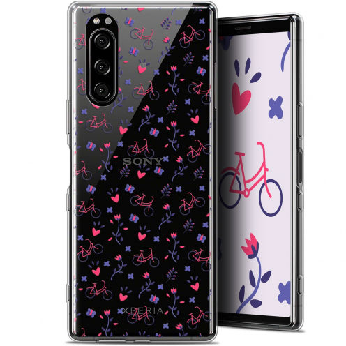 """Coque Gel Sony Xperia 5 (6.1"""") Extra Fine Love - Bicycle"""