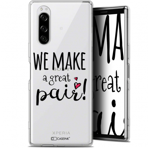 "Coque Gel Sony Xperia 5 (6.1"") Extra Fine Love - We Make Great Pair"
