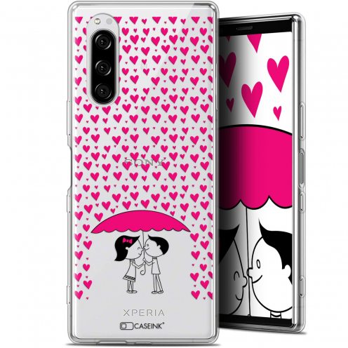 "Coque Gel Sony Xperia 5 (6.1"") Extra Fine Love - Pluie d'Amour"