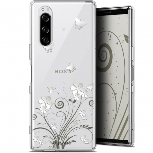"Coque Gel Sony Xperia 5 (6.1"") Extra Fine Summer - Papillons"