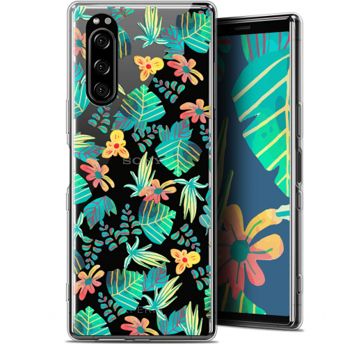 "Coque Gel Sony Xperia 5 (6.1"") Extra Fine Spring - Tropical"