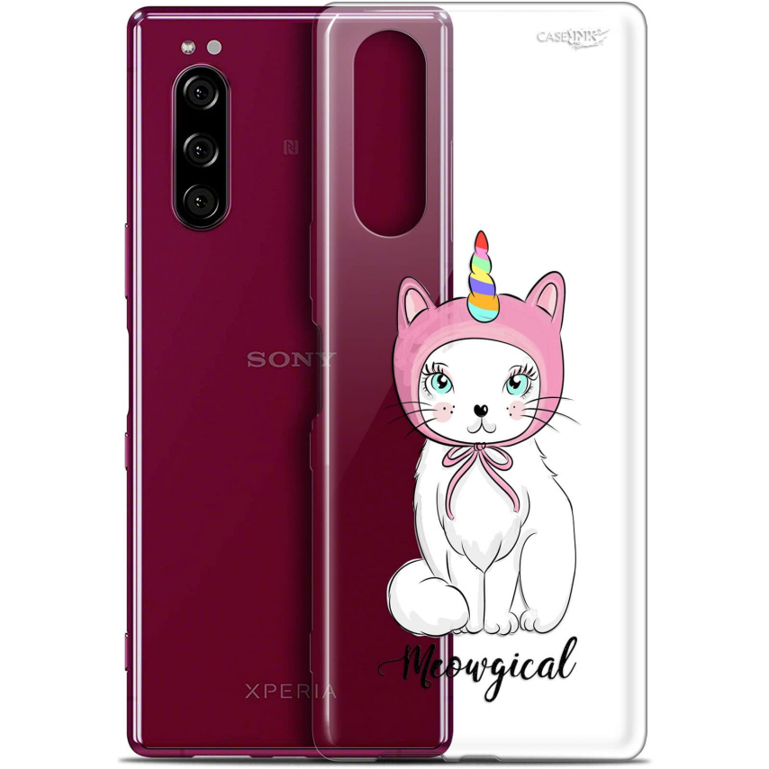 """Coque Gel Sony Xperia 5 (6.1"""") Extra Fine Motif - Ce Chat Est MEOUgical"""