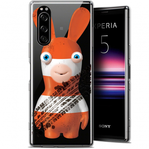 """Coque Gel Sony Xperia 5 (6.1"""") Extra Fine Lapins Crétins™ - On the Road"""