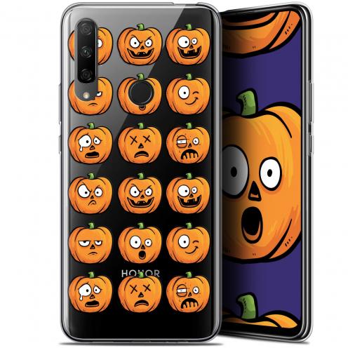 "Coque Gel Huawei Honor 9X (6.59"") Extra Fine Halloween - Cartoon Citrouille"