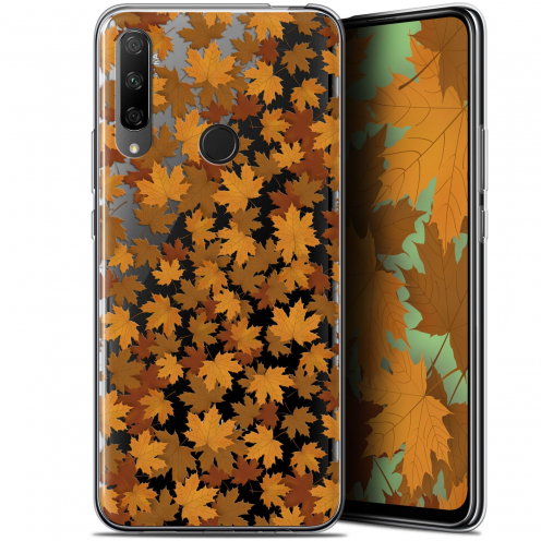 "Coque Gel Huawei Honor 9X (6.59"") Extra Fine Autumn 16 - Feuilles"