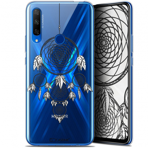 "Coque Gel Huawei Honor 9X (6.59"") Extra Fine Dreamy - Attrape Rêves NB"