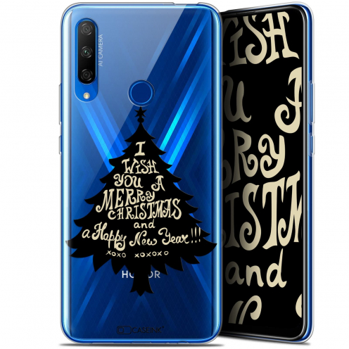 "Coque Gel Huawei Honor 9X (6.59"") Extra Fine Noël 2017 - XOXO Tree"