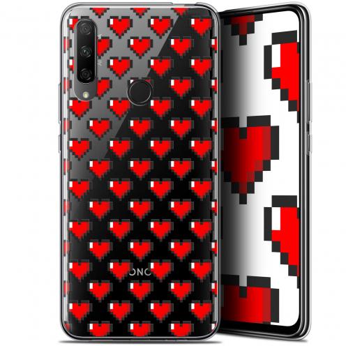 "Coque Gel Huawei Honor 9X (6.59"") Extra Fine Love - Pixel Art"