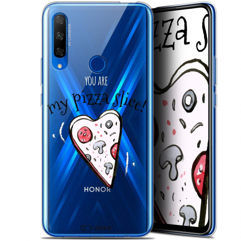 "Coque Gel Huawei Honor 9X (6.59"") Extra Fine Love - My Pizza Slice"