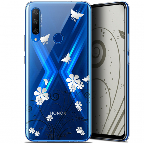 "Coque Gel Huawei Honor 9X (6.59"") Extra Fine Summer - Papillons"