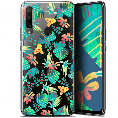 "Coque Gel Huawei Honor 9X (6.59"") Extra Fine Spring - Tropical"