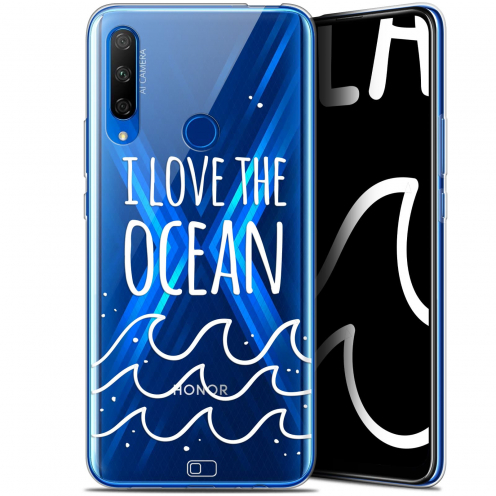 "Coque Gel Huawei Honor 9X (6.59"") Extra Fine Summer - I Love Ocean"