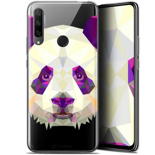 "Coque Gel Huawei Honor 9X (6.59"") Extra Fine Polygon Animals - Panda"
