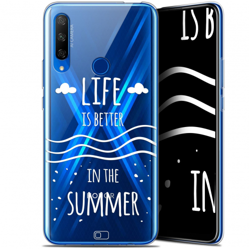 "Coque Gel Huawei Honor 9X (6.59"") Extra Fine Summer - Life's Better"