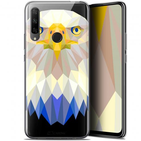 "Coque Gel Huawei Honor 9X (6.59"") Extra Fine Polygon Animals - Aigle"