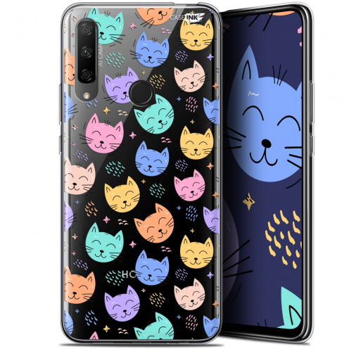 "Coque Gel Huawei Honor 9X (6.59"") Extra Fine Motif - Chat Dormant"