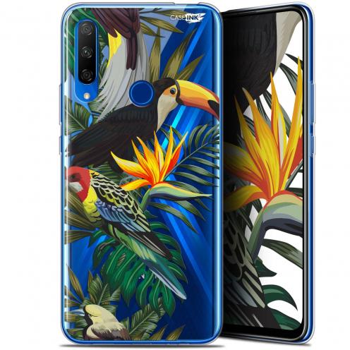 """Coque Gel Huawei Honor 9X (6.59"""") Extra Fine Motif - Toucan Tropical"""
