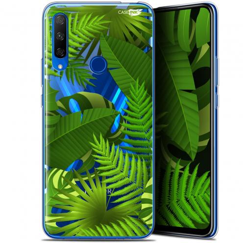 "Coque Gel Huawei Honor 9X (6.59"") Extra Fine Motif - Plantes des Tropiques"
