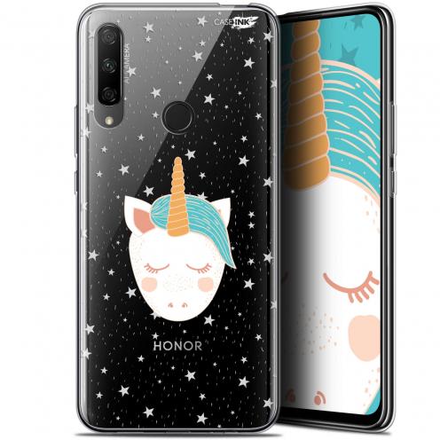 """Coque Gel Huawei Honor 9X (6.59"""") Extra Fine Motif - Licorne Dors"""