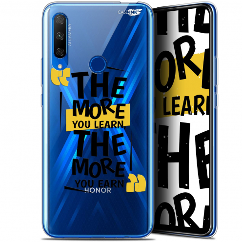 """Coque Gel Huawei Honor 9X (6.59"""") Extra Fine Motif - The More You Learn"""