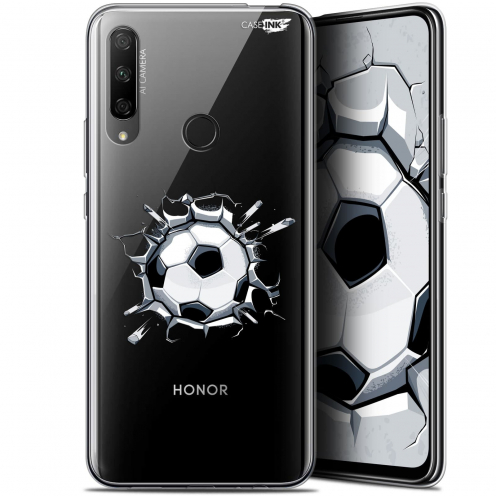 "Coque Gel Huawei Honor 9X (6.59"") Extra Fine Motif - Le Balon de Foot"