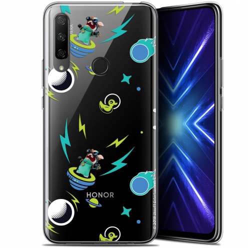 "Coque Gel Huawei Honor 9X (6.59"") Extra Fine Lapins Crétins™ - Space 1"
