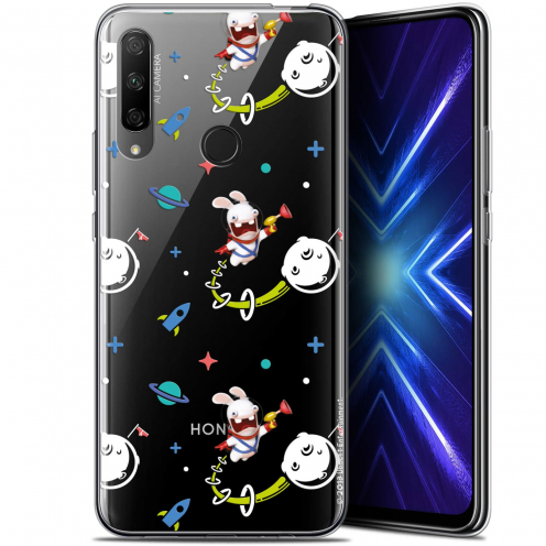 "Coque Gel Huawei Honor 9X (6.59"") Extra Fine Lapins Crétins™ - Space 2"