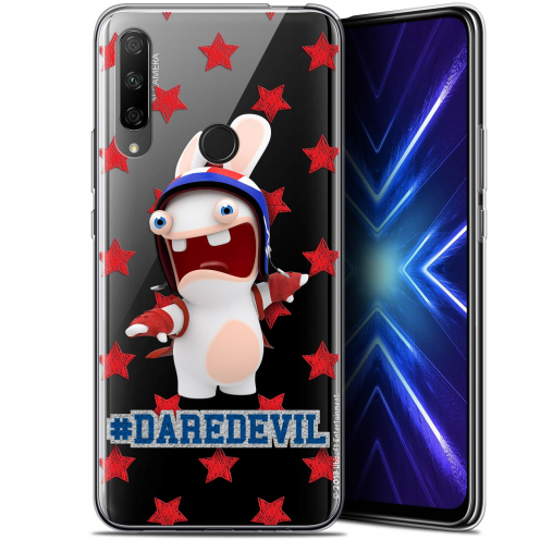 "Coque Gel Huawei Honor 9X (6.59"") Extra Fine Lapins Crétins™ - Dare Devil"