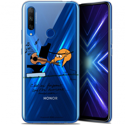 "Coque Gel Huawei Honor 9X (6.59"") Extra Fine Les Shadoks® - Musicien"