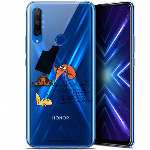 "Coque Gel Huawei Honor 9X (6.59"") Extra Fine Les Shadoks® - Le Travail"