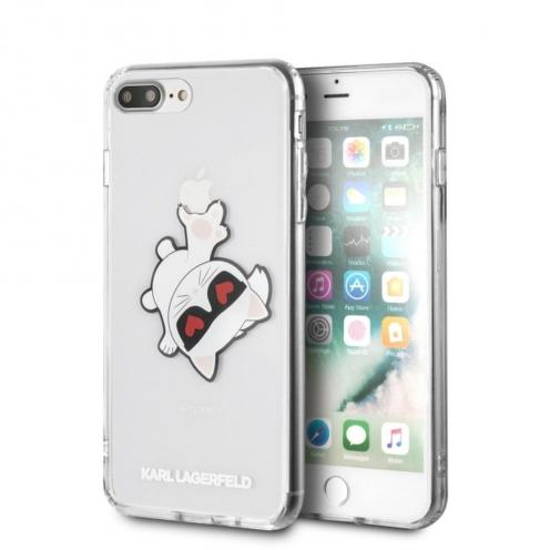 Coque Karl Lagerfeld® KLHCI8LCFHE iPhone 7/8 Plus Transparent