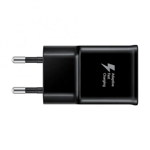 Chargeur Secteur d'Origine Samsung Galaxy Fast Charge EP-TA20EBECGWW 2A USB type C Noir blister