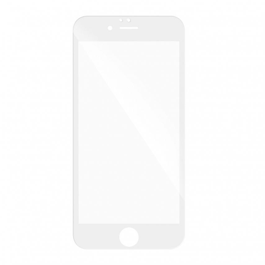 Verre trempé Intégral Full Glue 5D pour Huawei P20 Lite Blanc