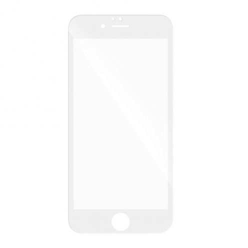Verre trempé Intégral Full Glue 5D pour Samsung Galaxy J3 2017 Blanc