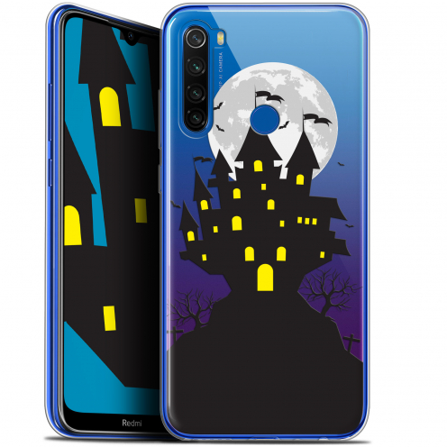 "Coque Gel Xiaomi Redmi Note 8T (6.3"") Extra Fine Halloween - Castle Scream"