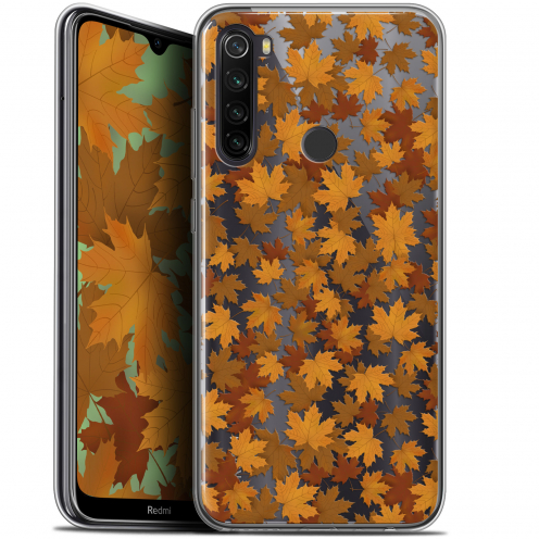 "Coque Gel Xiaomi Redmi Note 8T (6.3"") Extra Fine Autumn 16 - Feuilles"