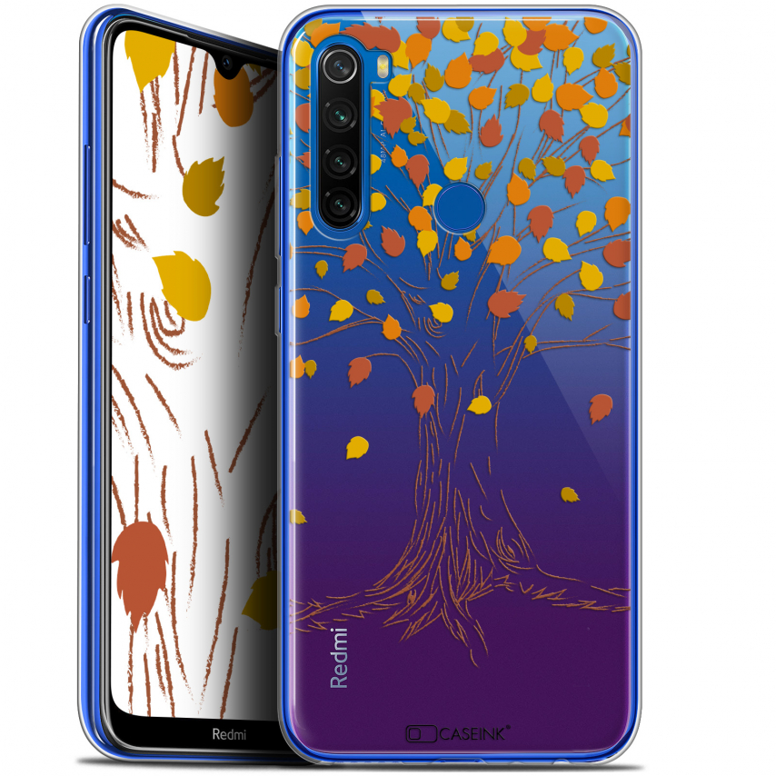 "Coque Gel Xiaomi Redmi Note 8T (6.3"") Extra Fine Autumn 16 - Tree"