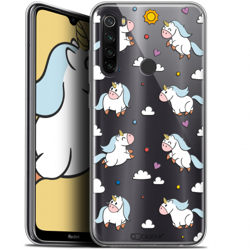 "Coque Gel Xiaomi Redmi Note 8T (6.3"") Extra Fine Fantasia - Licorne In the Sky"