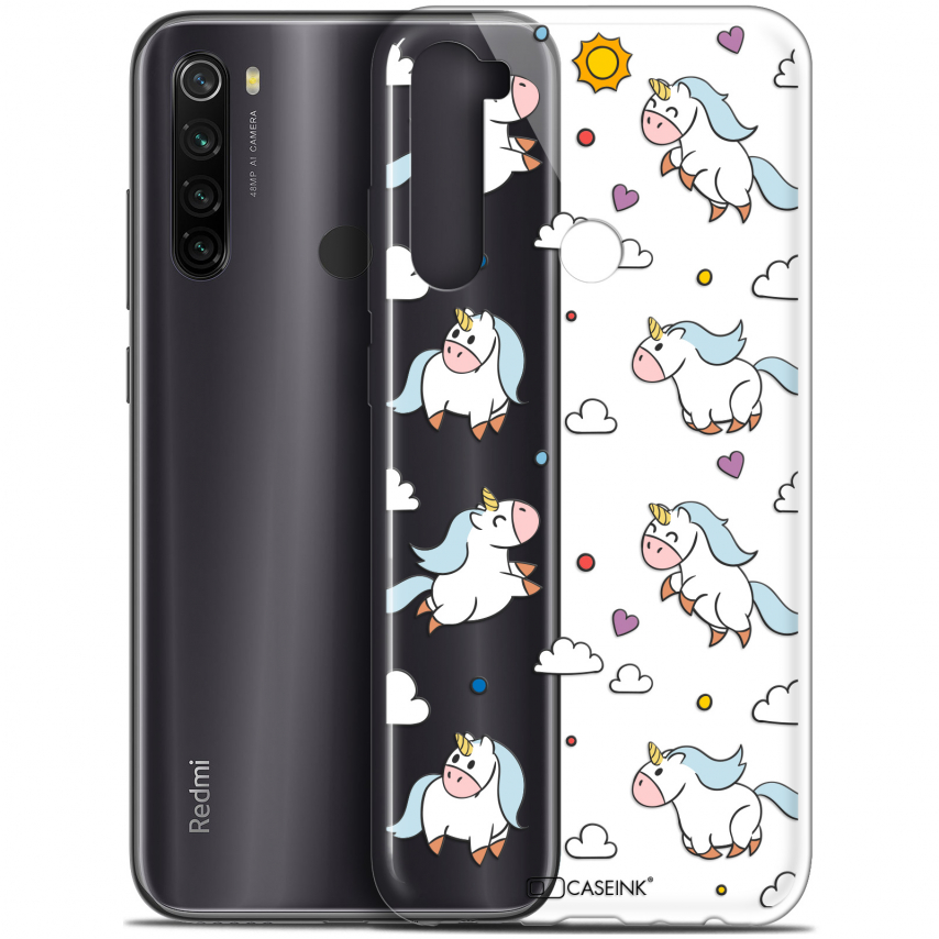 "Coque Gel Xiaomi Redmi Note 8T (6.3"") Extra Fine Fantasia - Licorne In the Sky"
