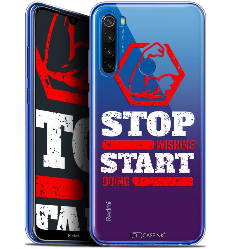 "Coque Gel Xiaomi Redmi Note 8T (6.3"") Extra Fine Quote - Start Doing"