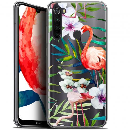 "Coque Gel Xiaomi Redmi Note 8T (6.3"") Extra Fine Watercolor - Tropical Flamingo"