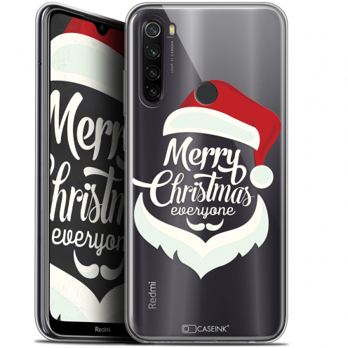 "Coque Gel Xiaomi Redmi Note 8T (6.3"") Extra Fine Noël 2017 - Merry Everyone"