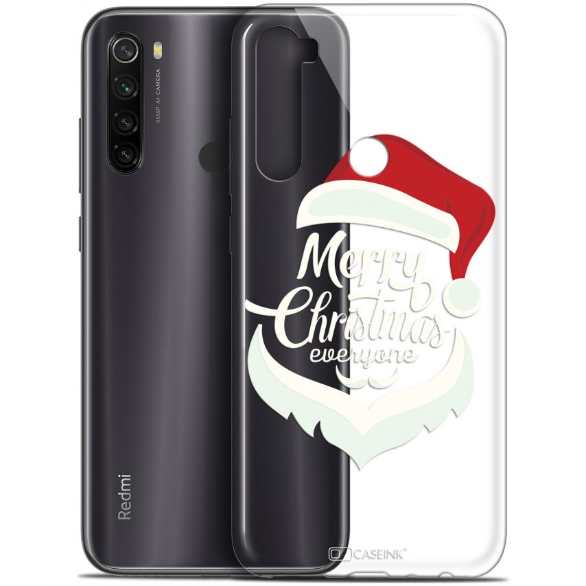 """Coque Gel Xiaomi Redmi Note 8T (6.3"""") Extra Fine Noël 2017 - Merry Everyone"""