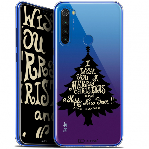 "Coque Gel Xiaomi Redmi Note 8T (6.3"") Extra Fine Noël 2017 - XOXO Tree"